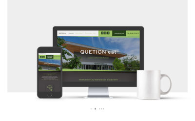 Création site internet du restaurant Quetign'eat